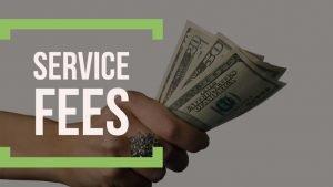 service fees