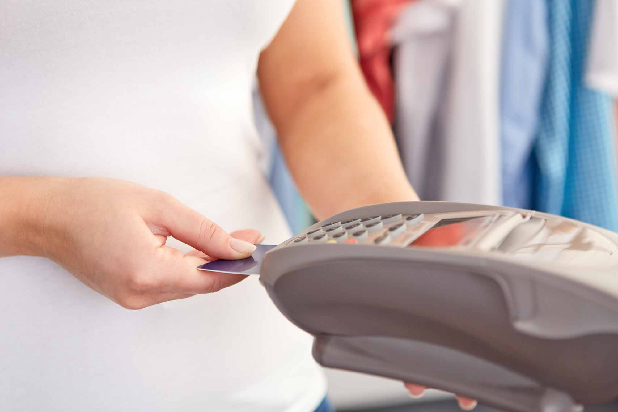 You'll make more money with a credit card processing job