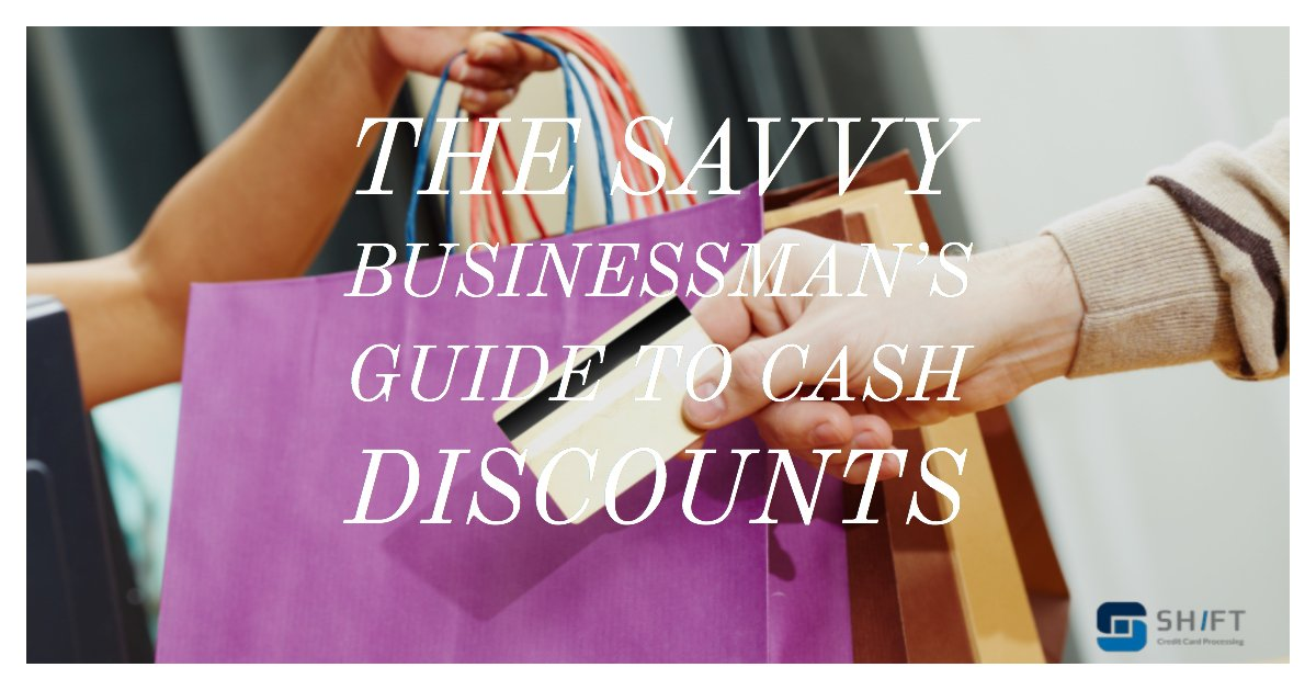 A cash discount will help a business man save money!