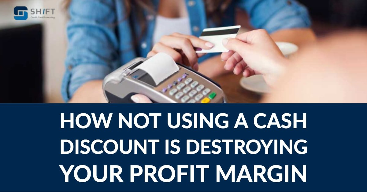 A cash discount can help your business save money on processing fees