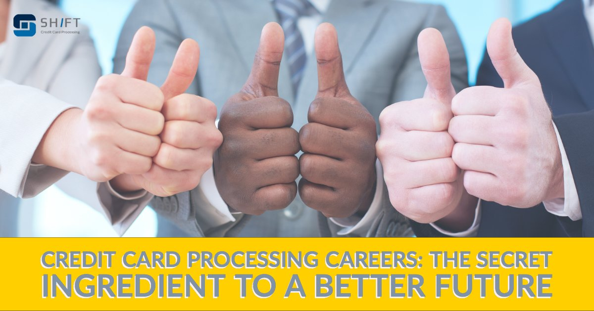 Credit Card Processing Careers are a great option for you!