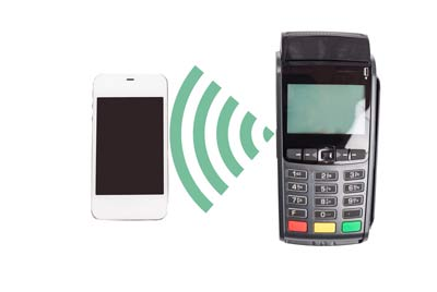 using near field communication to process credit card payments