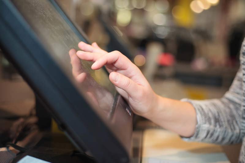 business being managed from a pos system